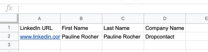 Prepare your Google Sheets file