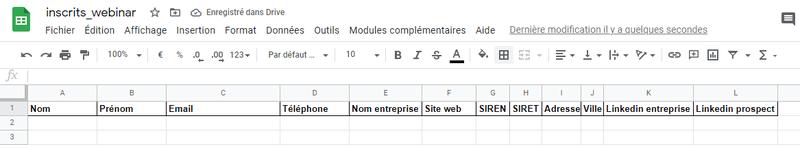 Zapier - Enrich via Dropcontact and push in Google Sheet