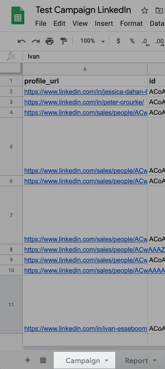Naming your GoogleSheet extraction via CaptainData and Dropcontact