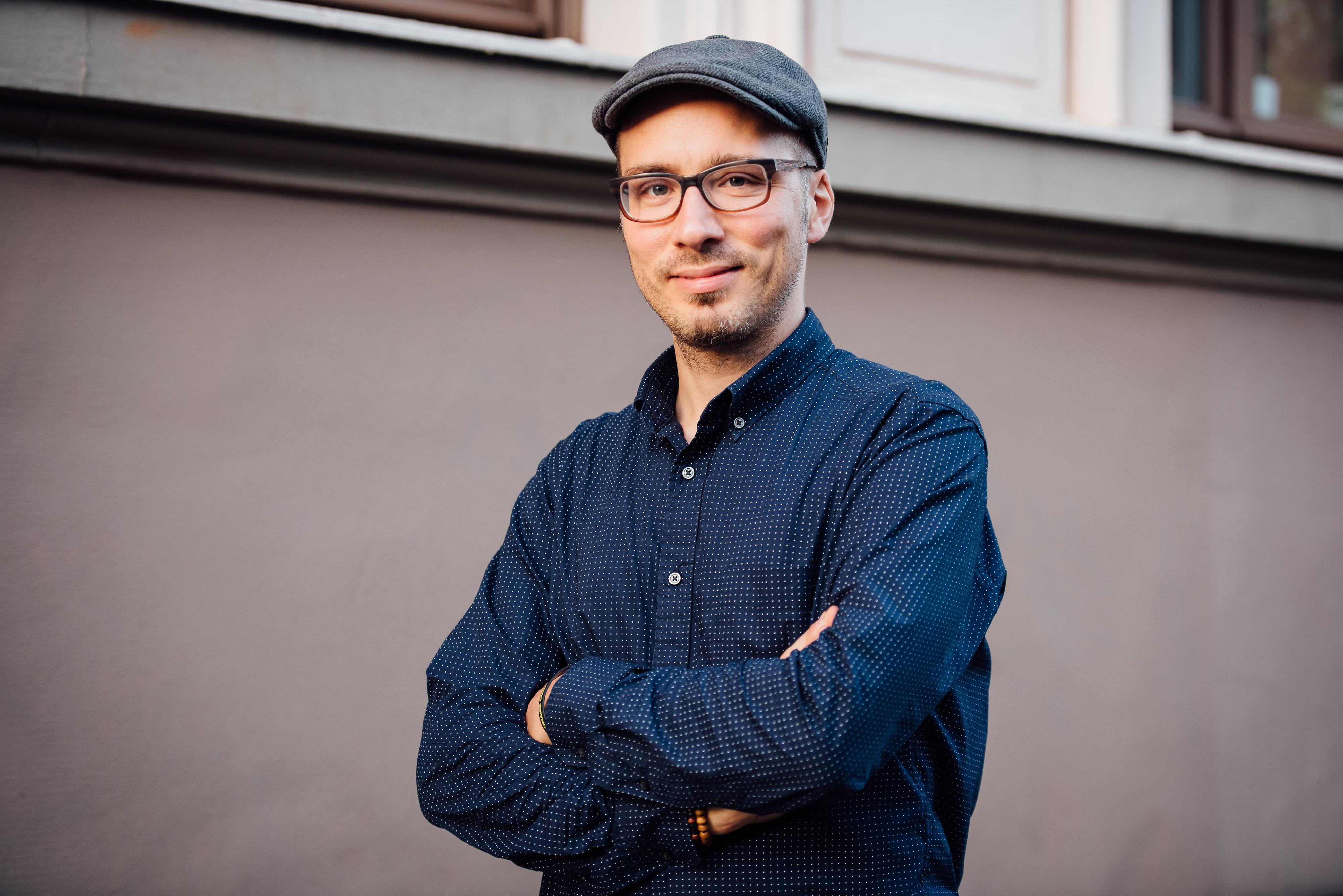 Portrait von Fotograf Marius Bauer aus Berlin