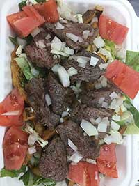 Steak Frites Salad