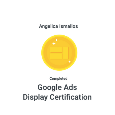 Google Ads Display Certification
