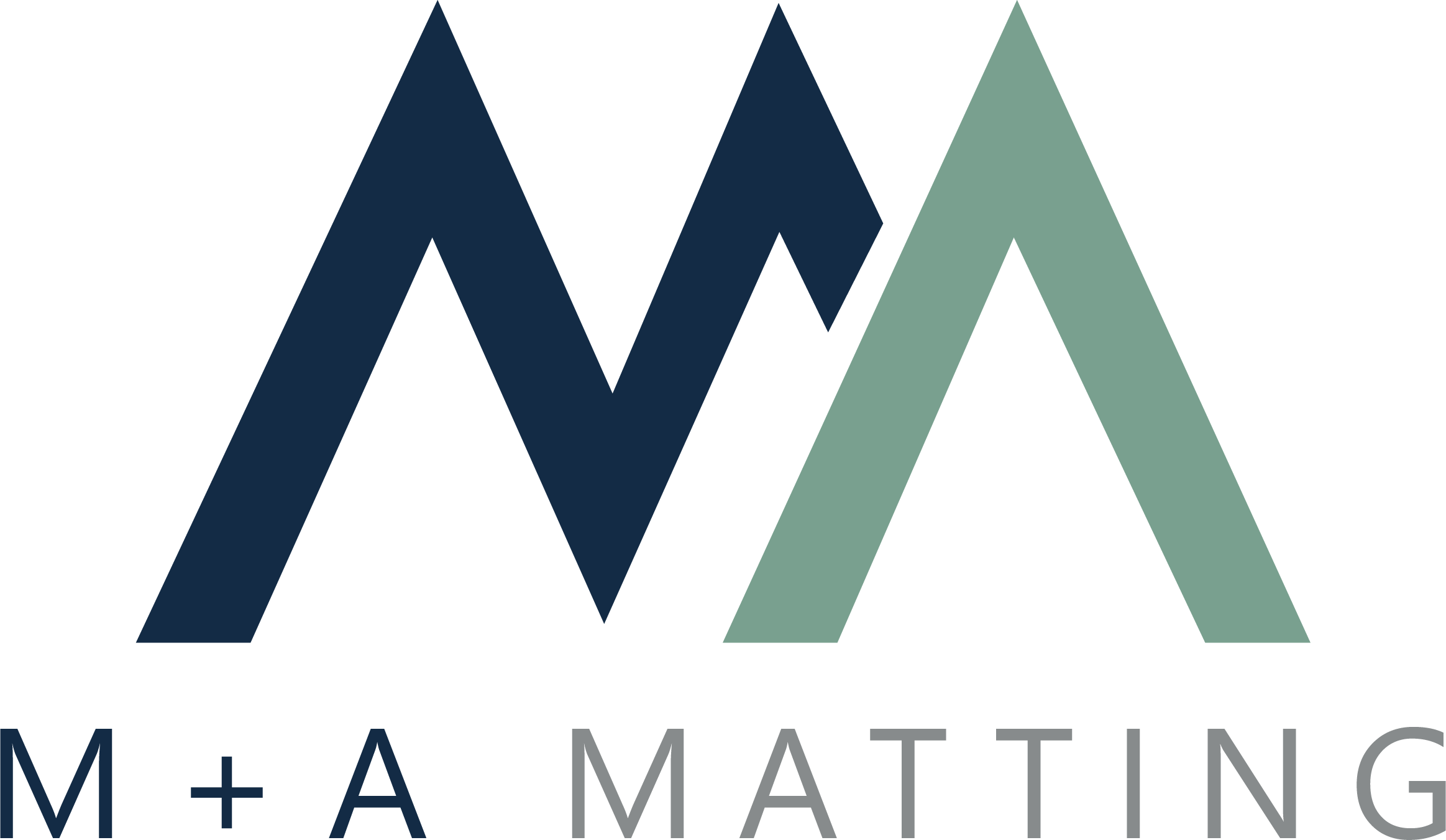 Logo for M and A Matting