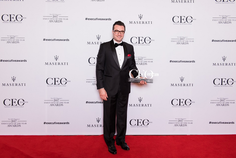 Vitex Pharmaceuticals Co-Founder and Chief Executive Officer Dr Aniss Chami was presented with the Manufacturing Executive of the Year Award in the 2017 CEO Magazine Awards