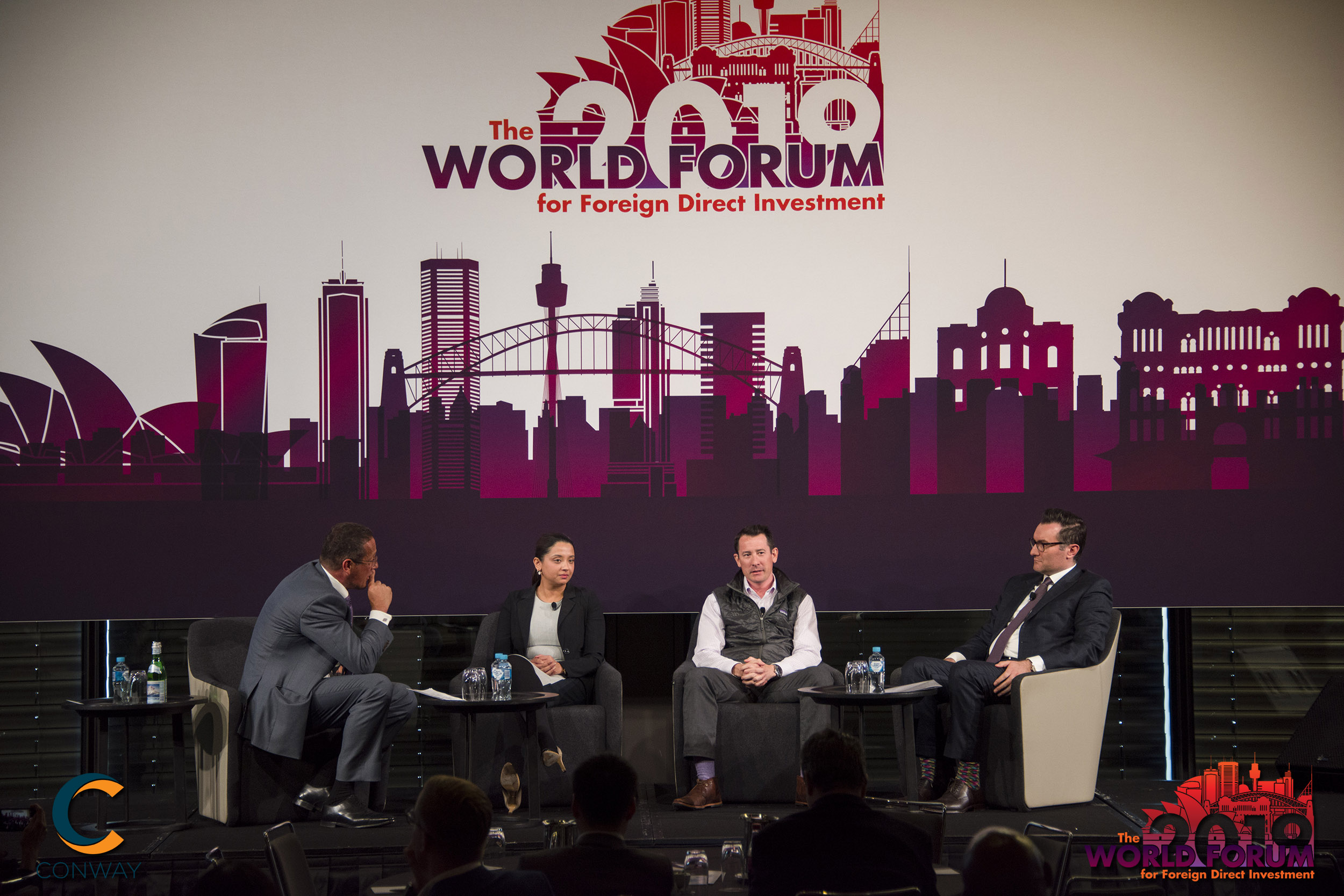 Vitex Pharmaceuticals' CEO, Dr Aniss Chami delivered the keynote speech at the 16th edition of the World Forum for Foreign Direct Investment (FDI) 2019 held on Wednesday 19 June 2019 in Sydney, Australia.