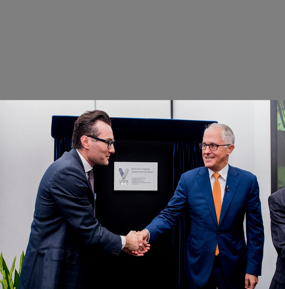Vitex Pharmaceuticals, the Australian-owned and operated contract manufacturer of complementary medicines, today unveiled its new 26,000 square metre, state-of-the-art manufacturing facility in Sydney's Eastern Creek.