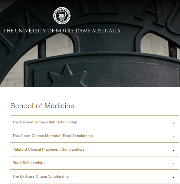 The University of Notre Dame, Australia, is offering a scholarship in the name of Dr Aniss Chami Scholarship – Vitex Pharmaceutical's CEO and Co-Founder – which is to be applied to the School of Medicine in Sydney.