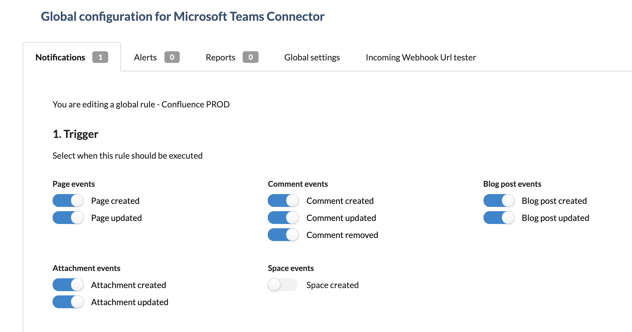 Multiple filters and Microsoft Teams channels