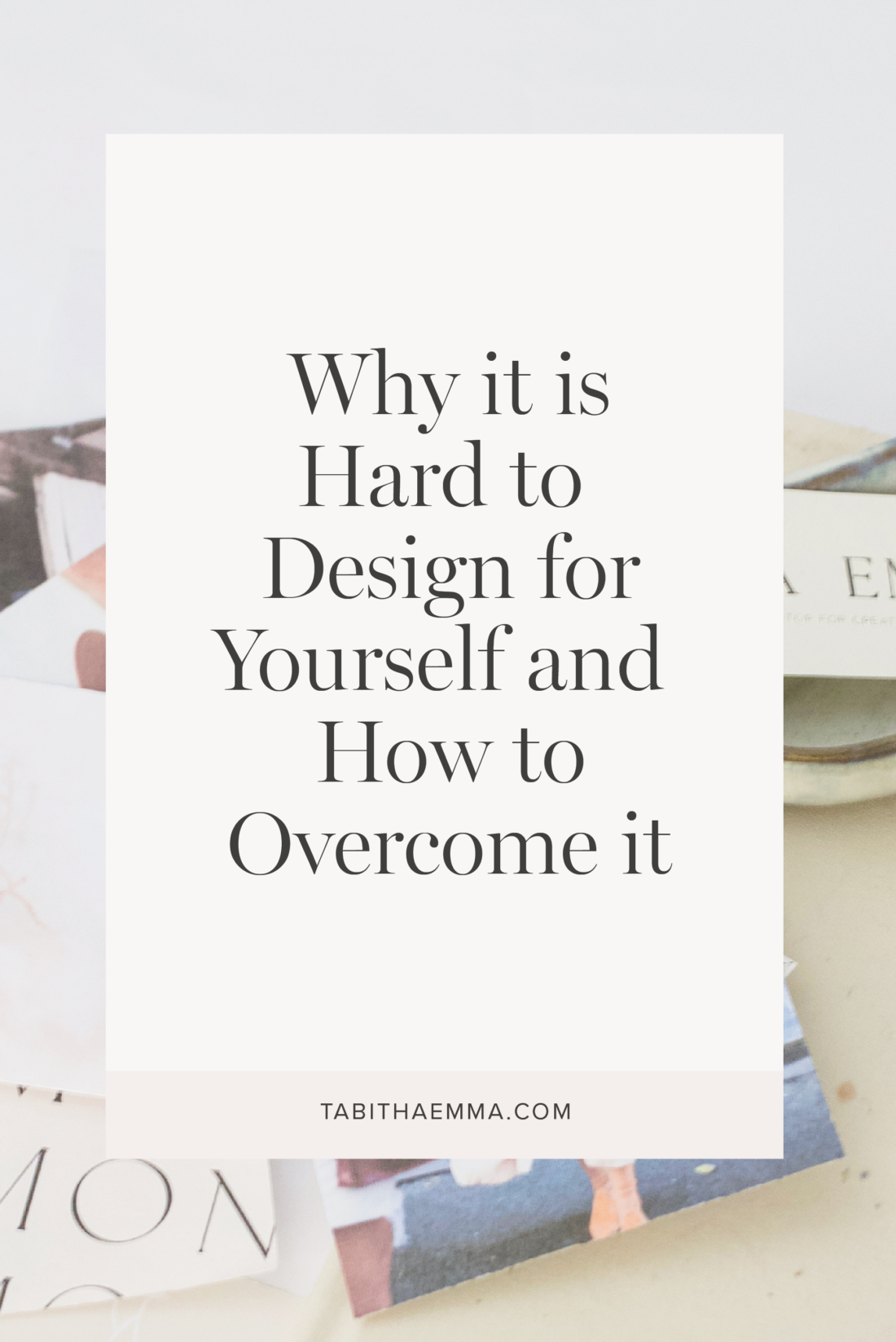 overcome design for yourself