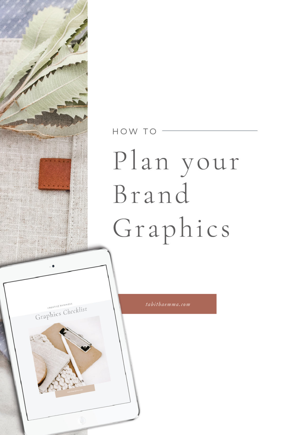 plan your brand graphics