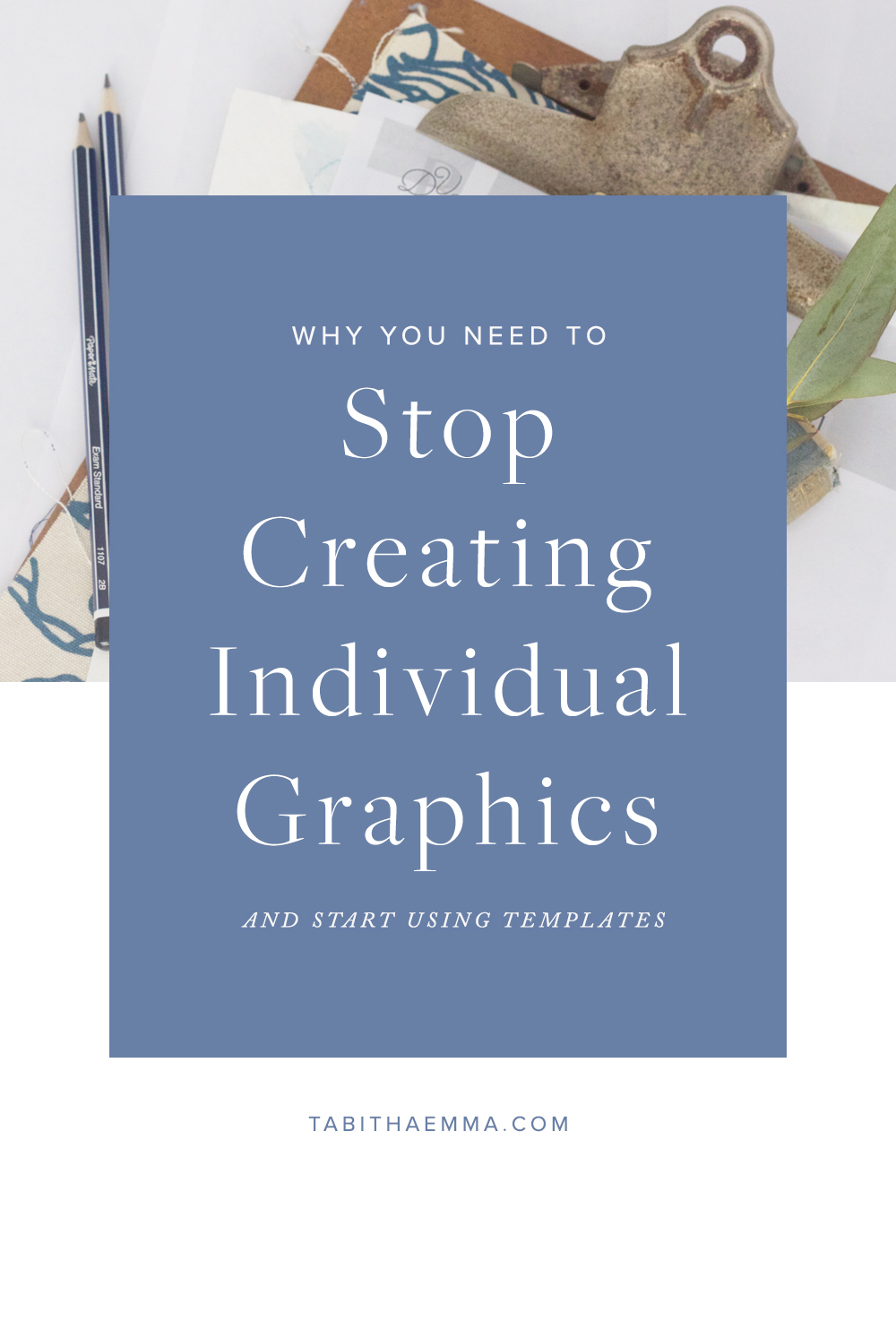 Why you Need to Stop Creating Individual Graphics