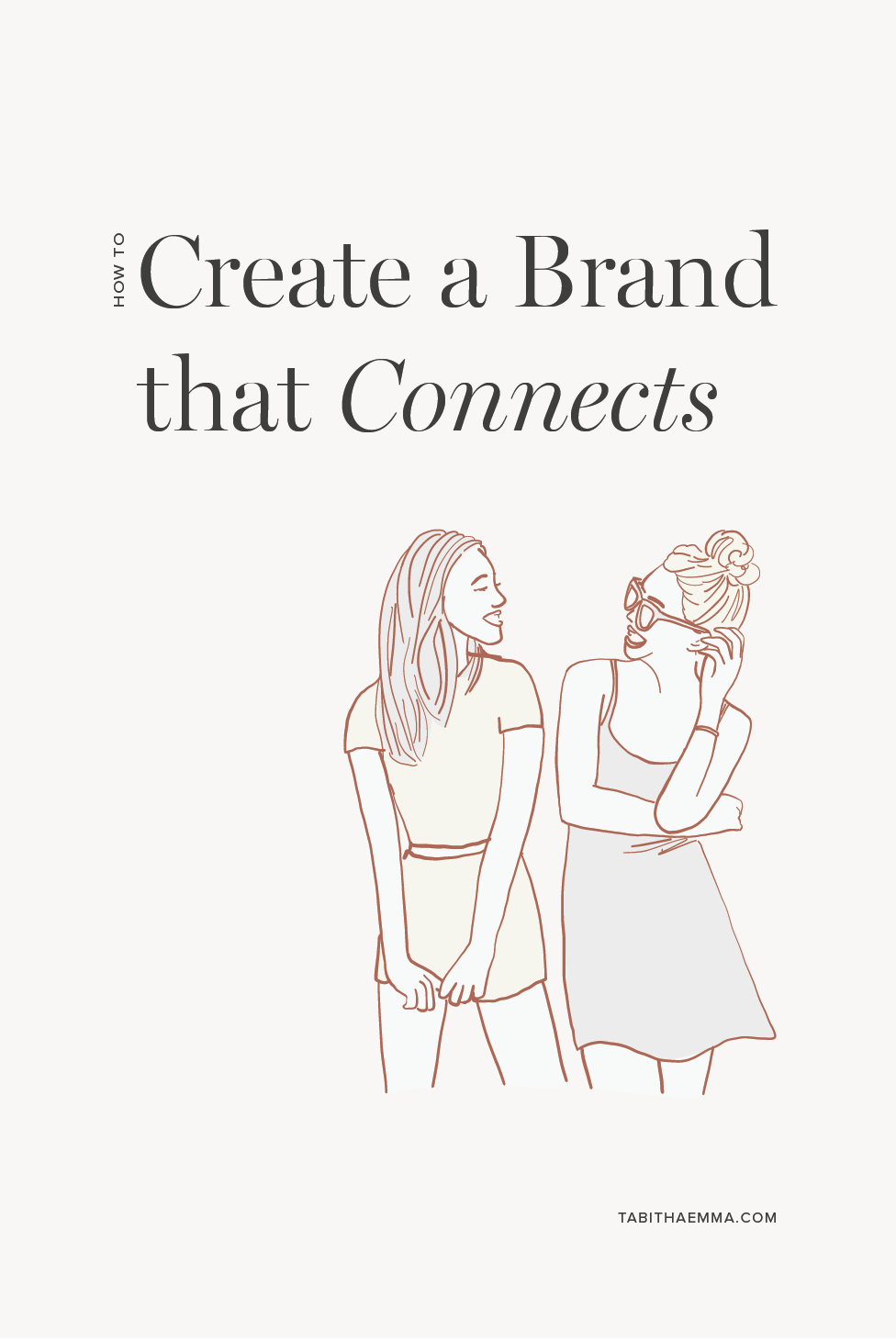 create a brand that connects