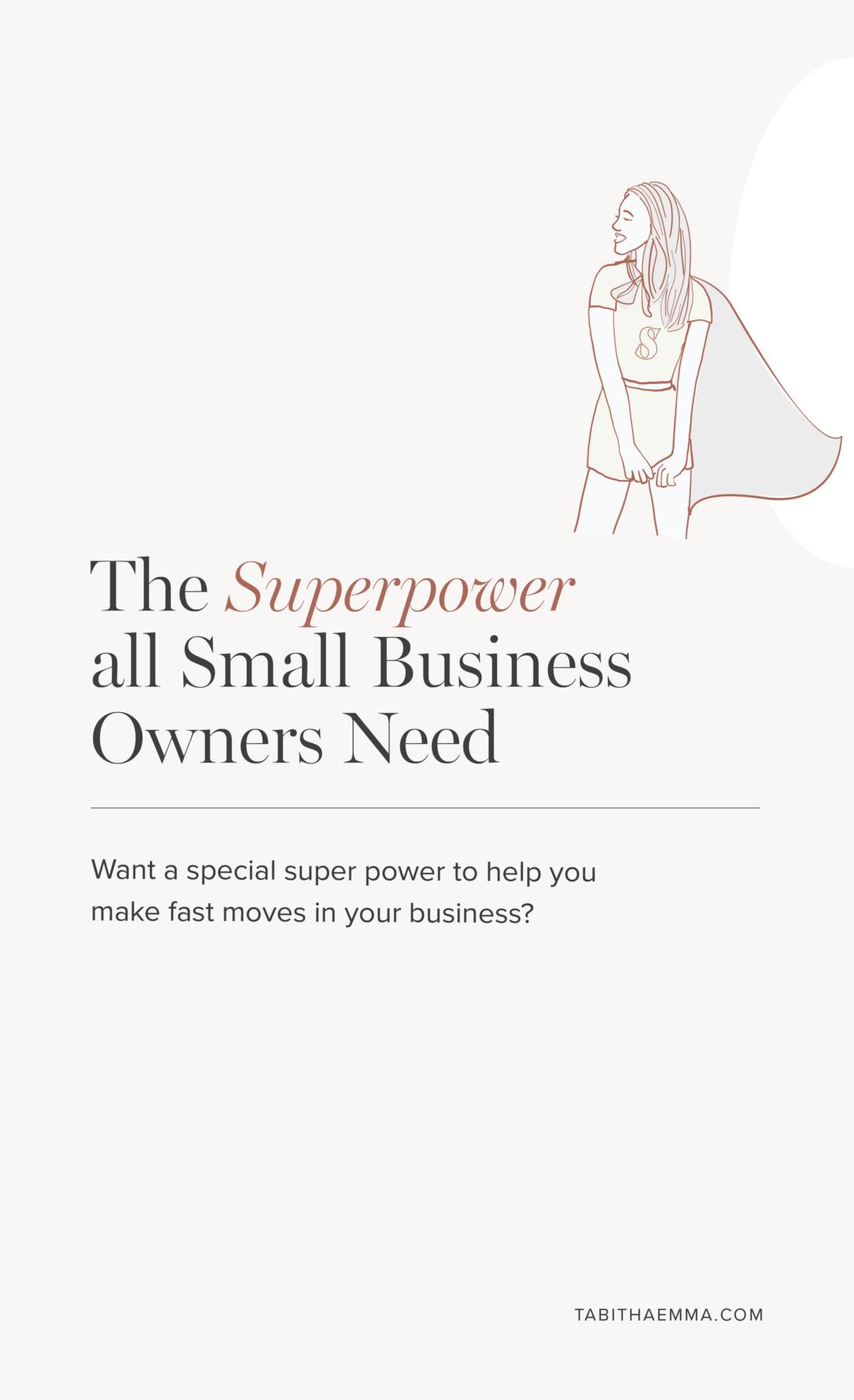 superpower skill graphic design business