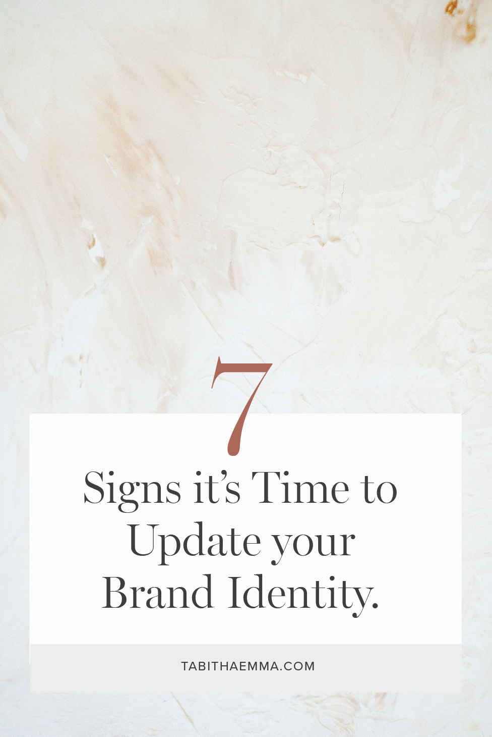 7 signs you need to redesign your branding