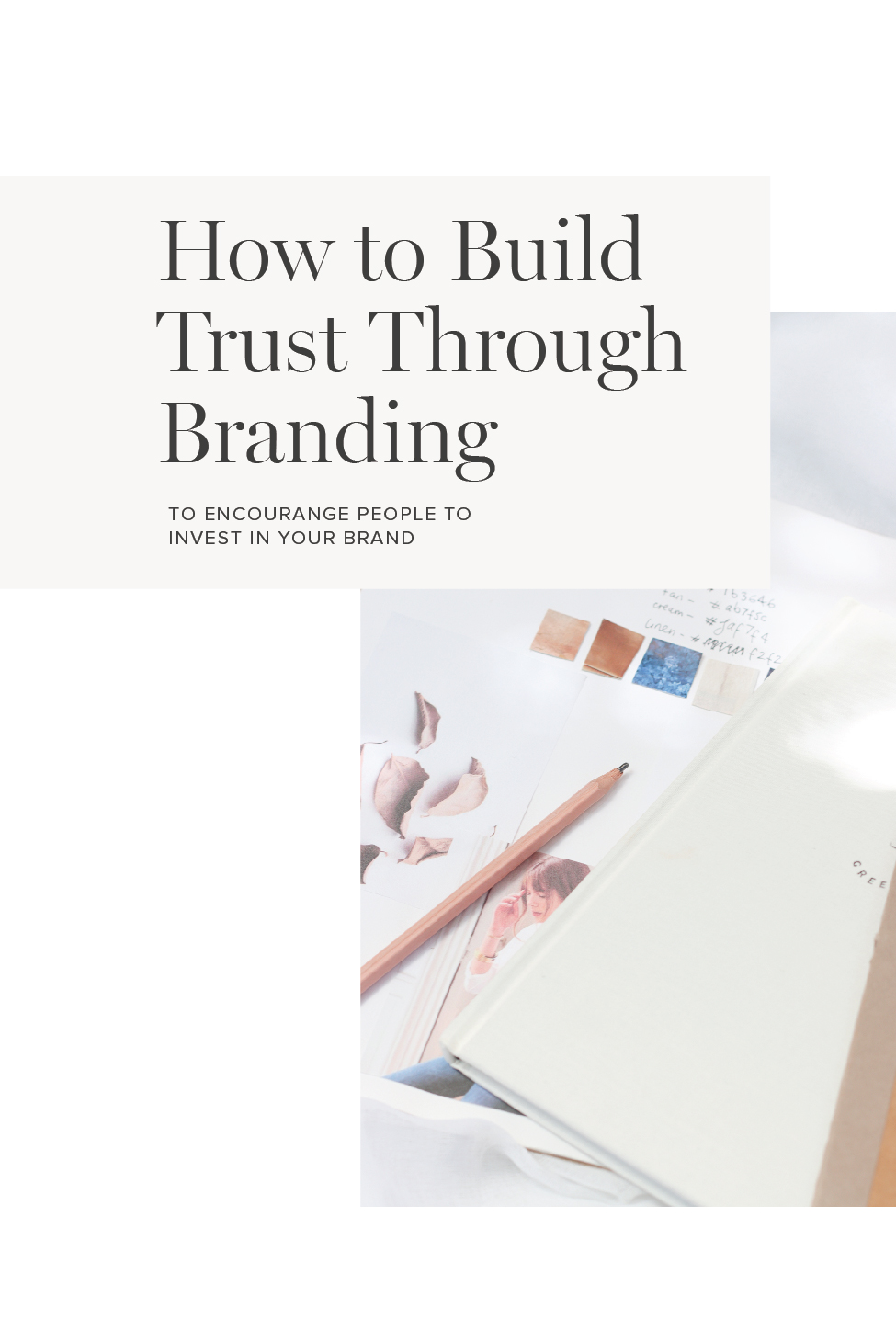 how to build trust through branding