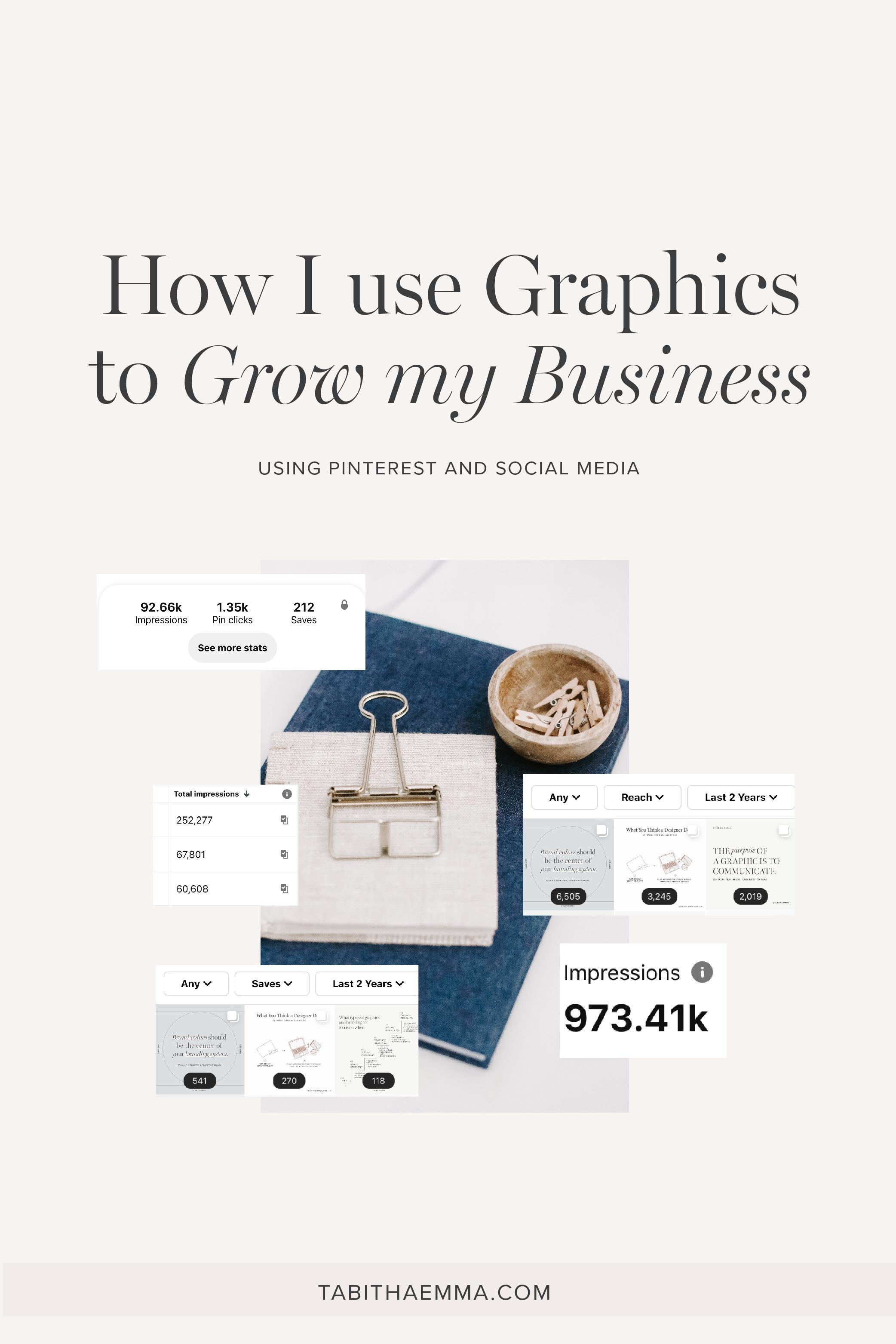 use graphics to grow business