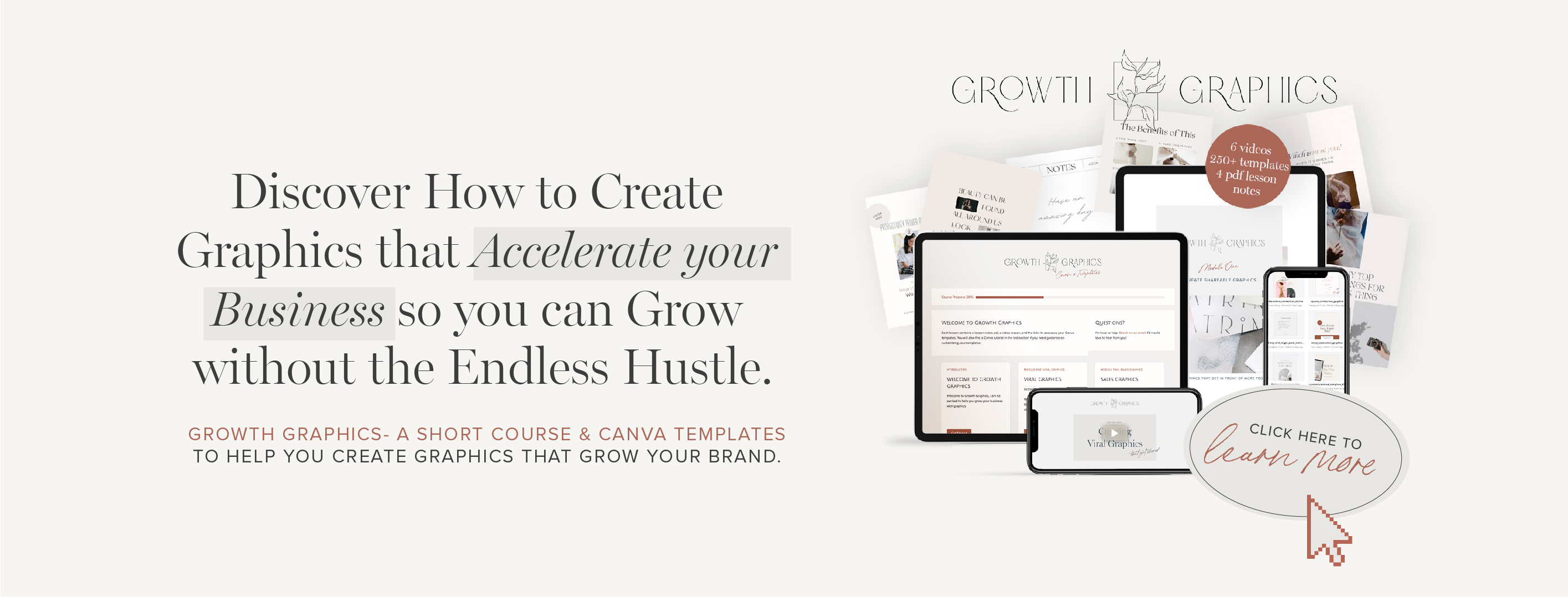 growth graphics course