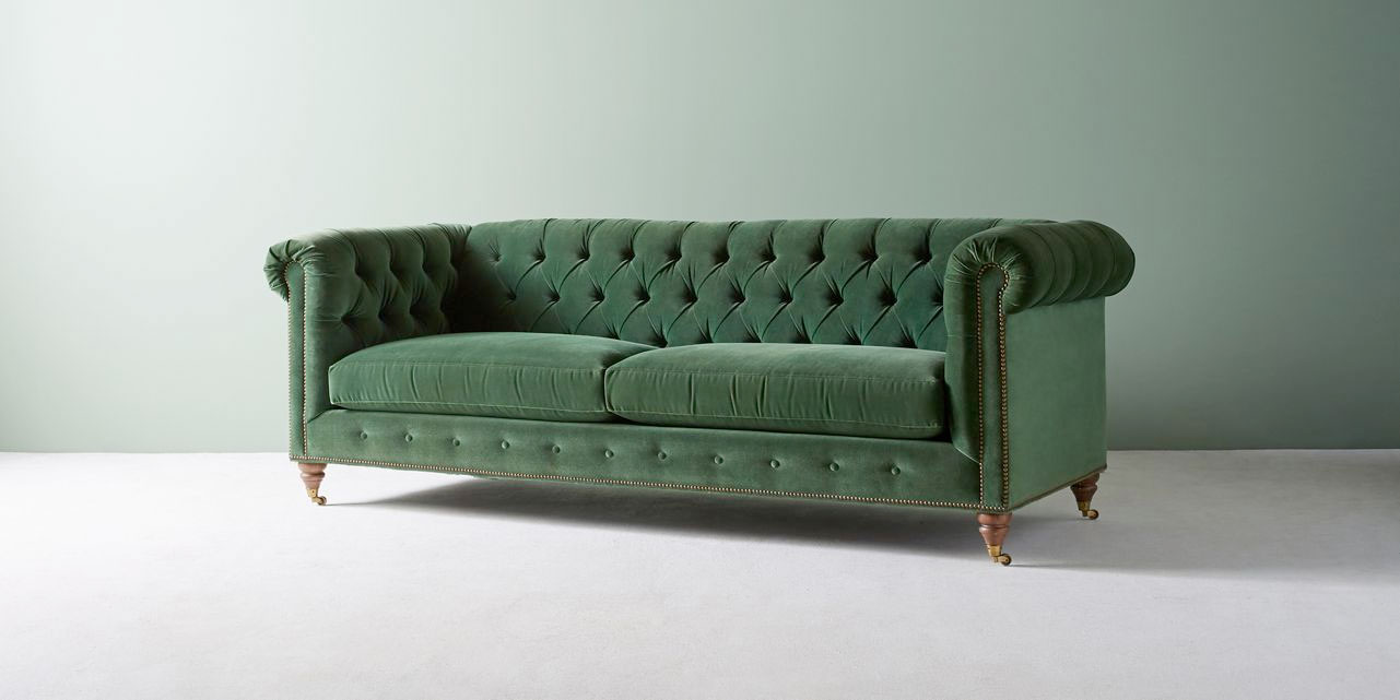 Lyre Chesterfield Sofa