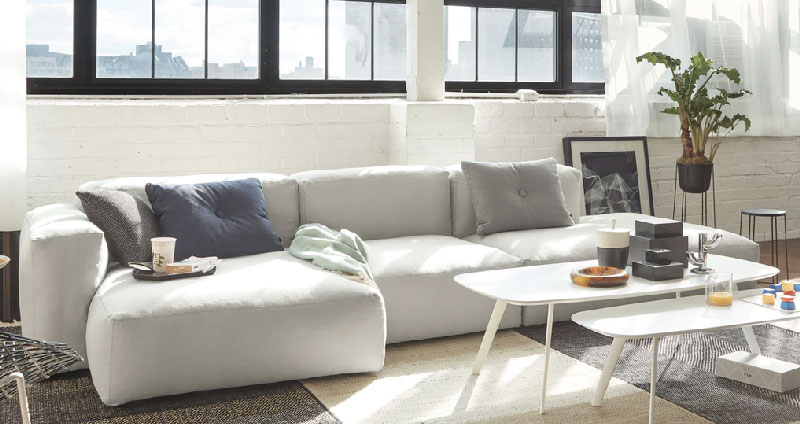Design Within Reach Low Sofa