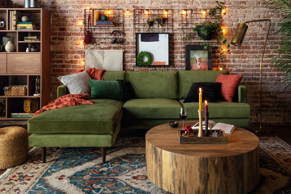 Preston Reverse Sectional Sofa