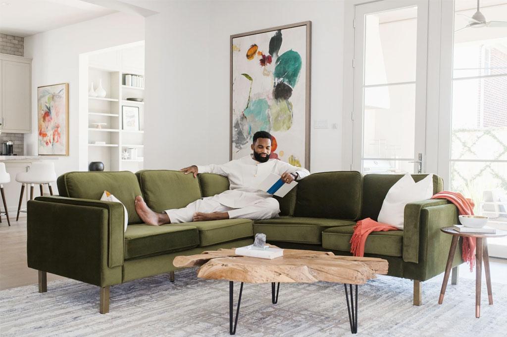 Albany Park sectional sofa
