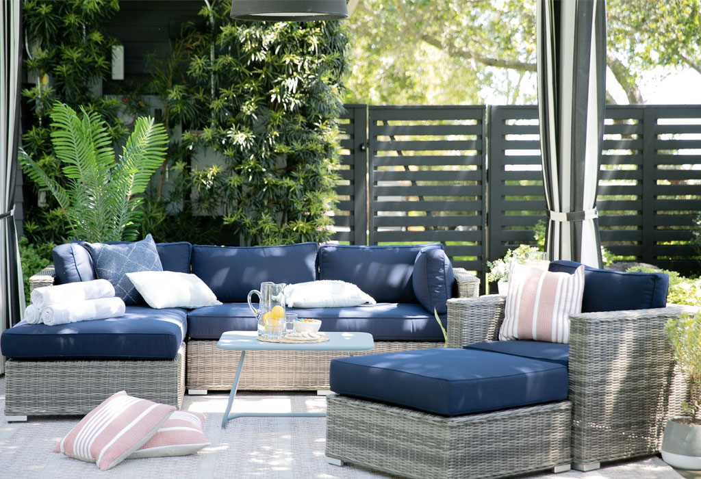 Outdoor Furniture, Patio Sectional Replacement Cushions Canada