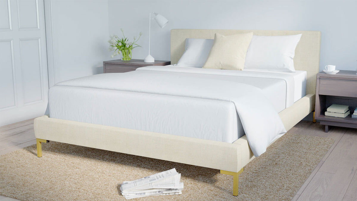 The Modern Platform Bed by The Inside