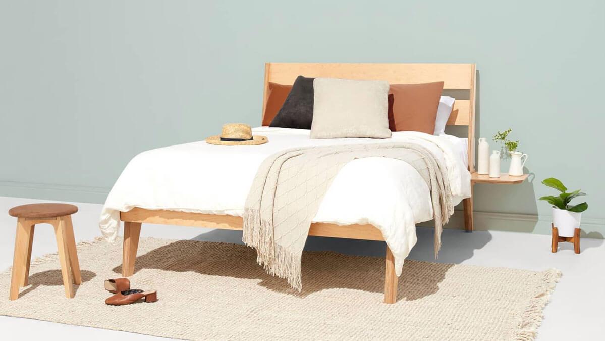 Savoy Wood Bed Frame