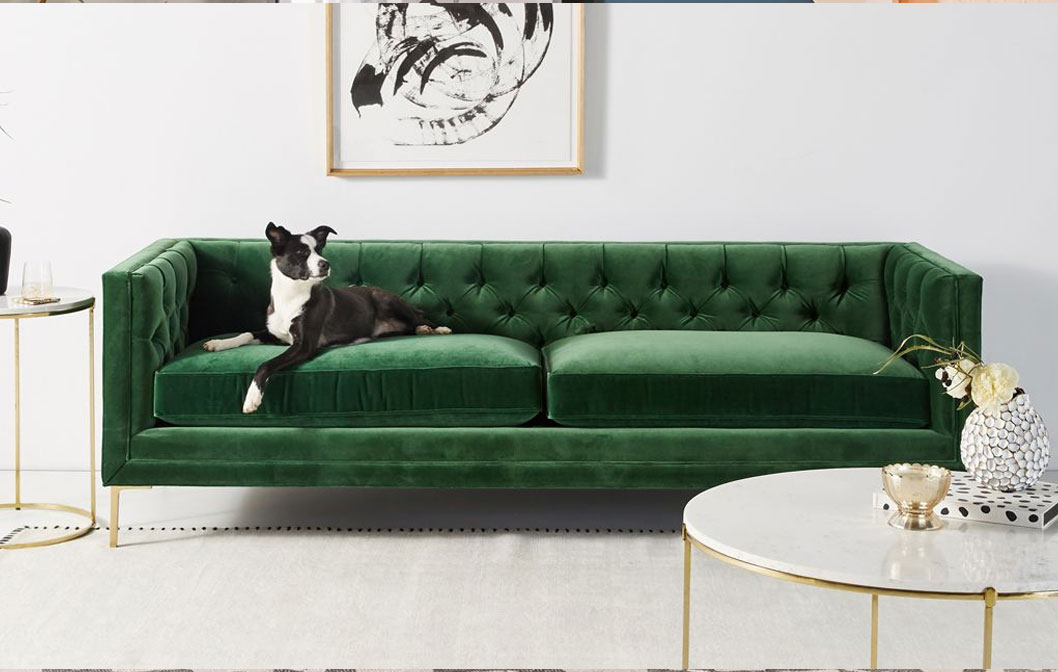 Mina Two-Cushion Sofa