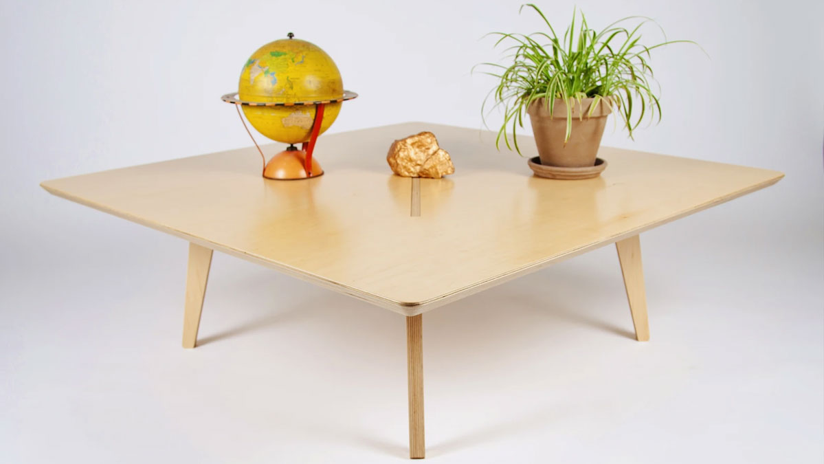 The Big Square Coffee Table