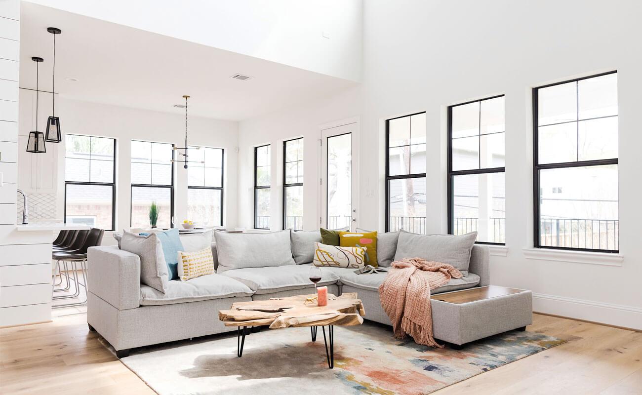 Kova L-Shaped Modular Sofa