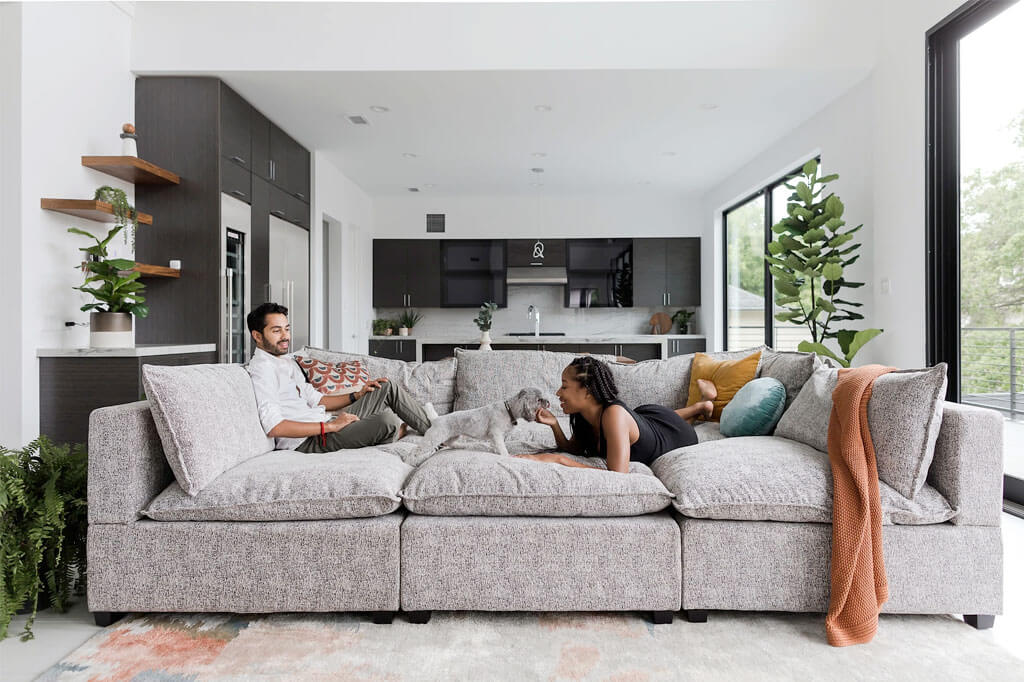 Kova Pit Modular Sofa