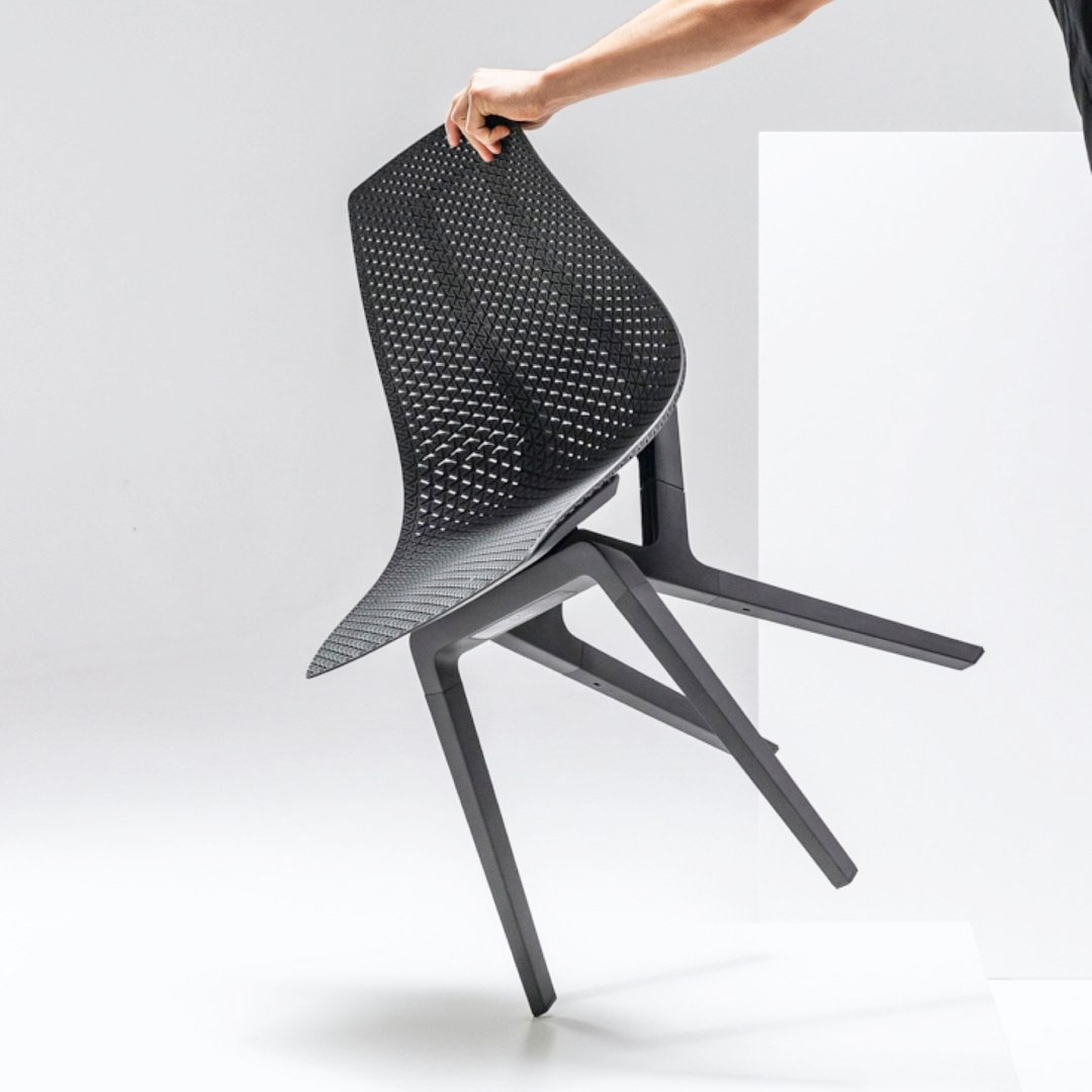 Noho Move Chair in Ironsand