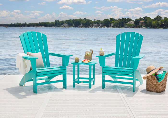 Nautical Curveback Adirondack Chair