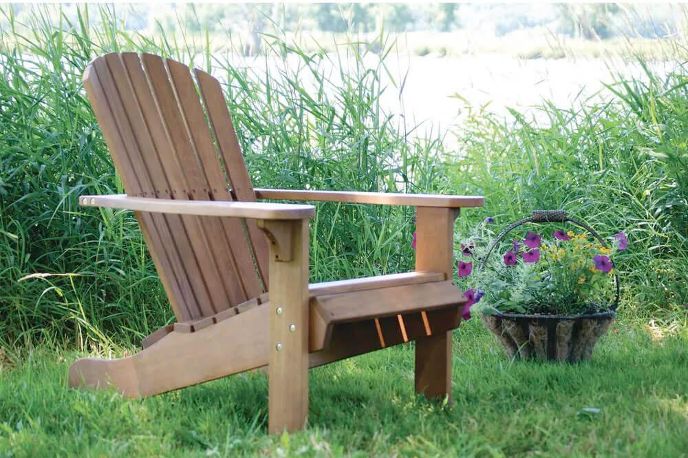Eucalyptus Adirondack Chair