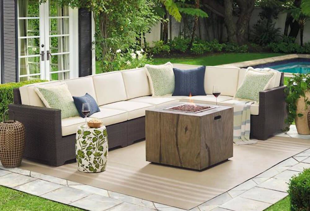 Frontgate Outdoor Sectional Sofa