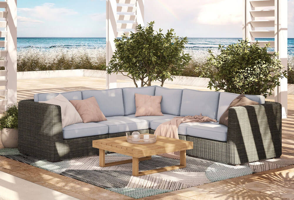 Ajna Outdoor Corner Sectional