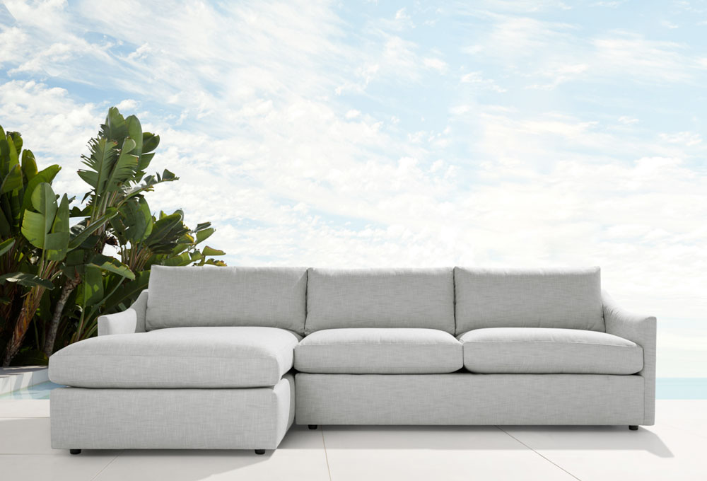 Branson Outdoor Two Piece Sectional