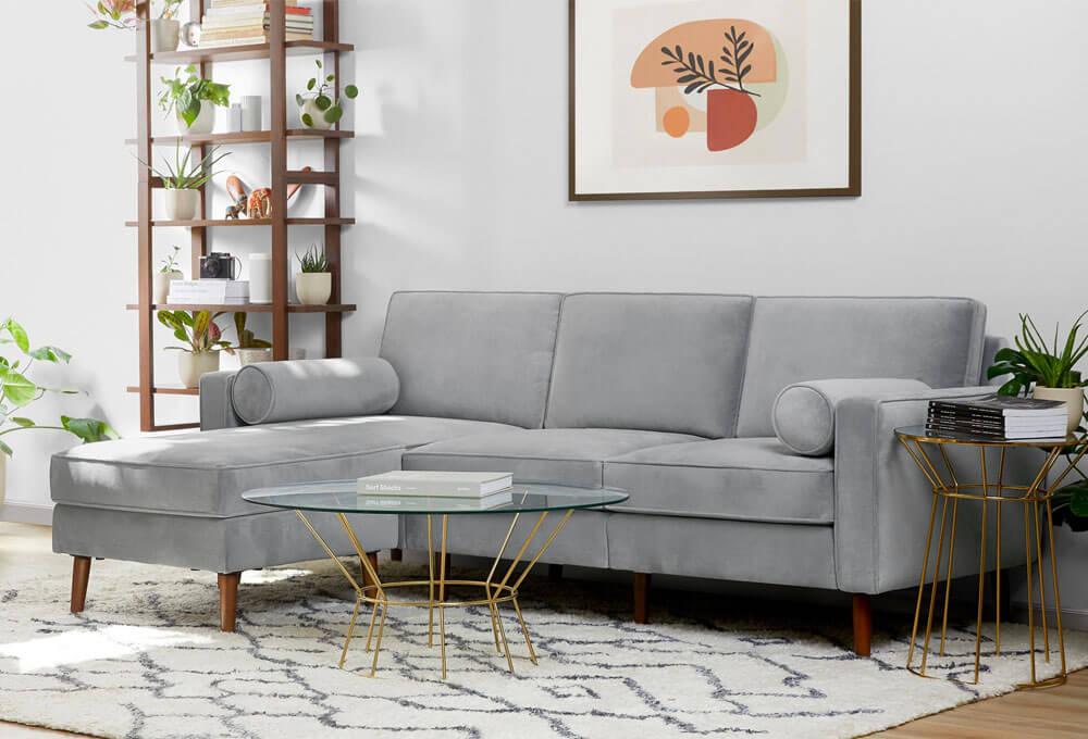 Nomad Velvet Sofa