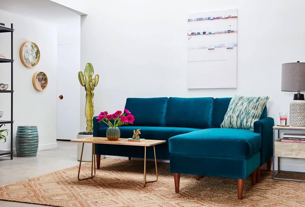 Scott Reversible Chaise Sofa