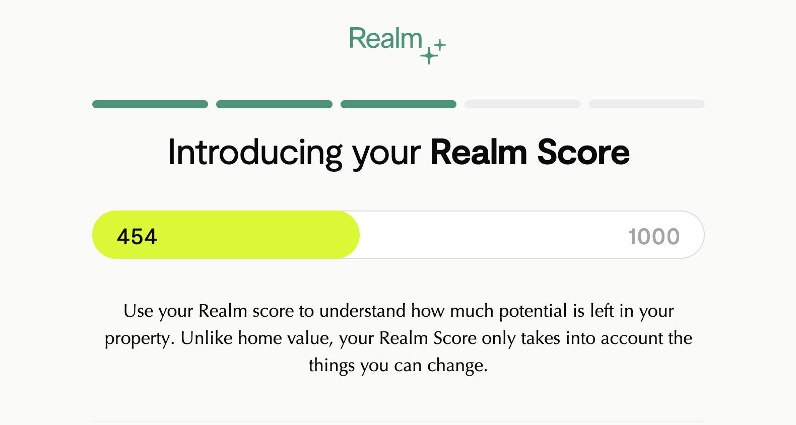 Realm Score