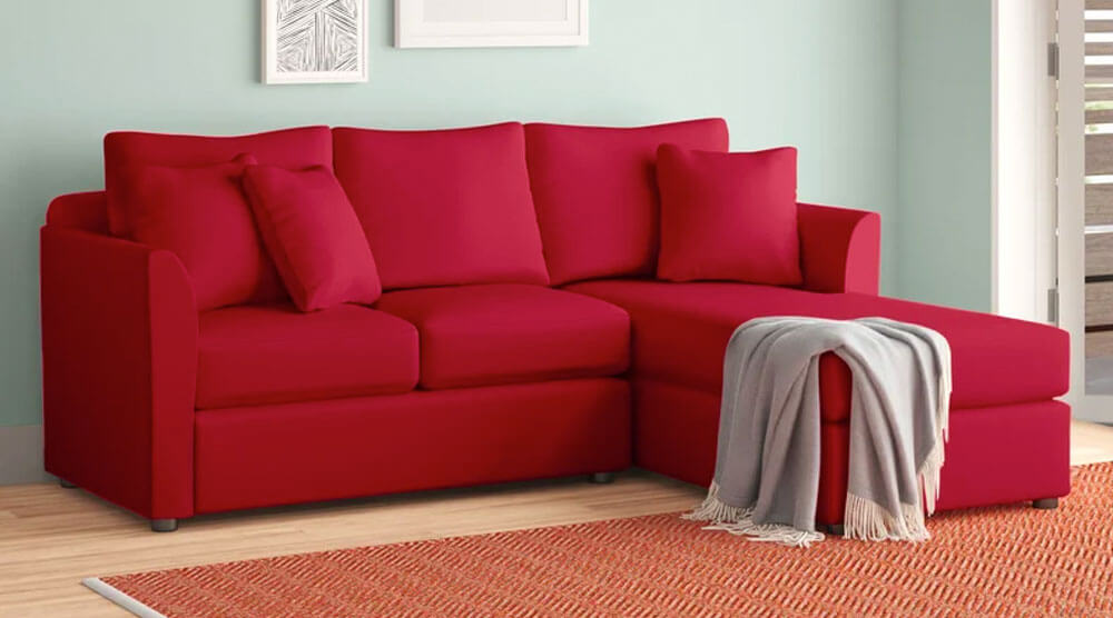 Wide Sofa & Chaise