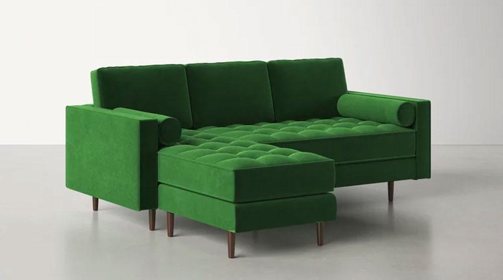 Kasey Reversible Stationary Sofa