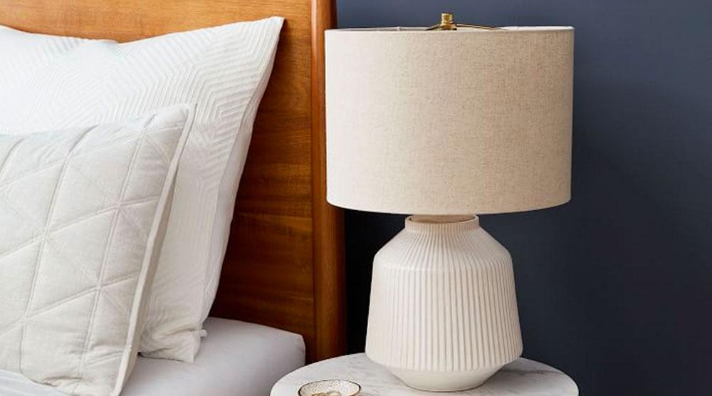 Roar & Rabbit Ripple Ceramic Table Lamp