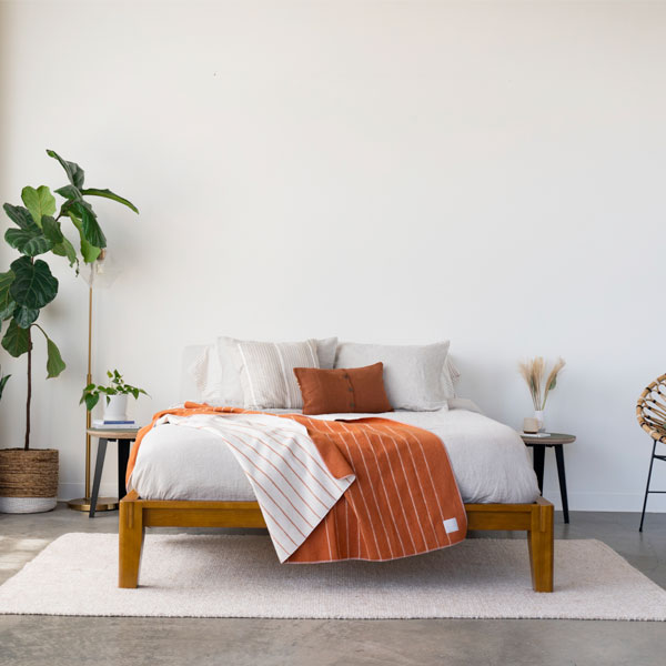 I Tried Rumpl's New Merino Wool Blanket and My Home is Way Cozier For It