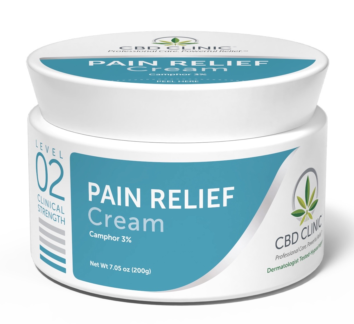 CBD Clinical Strength Pain Relief Cream- Level 2