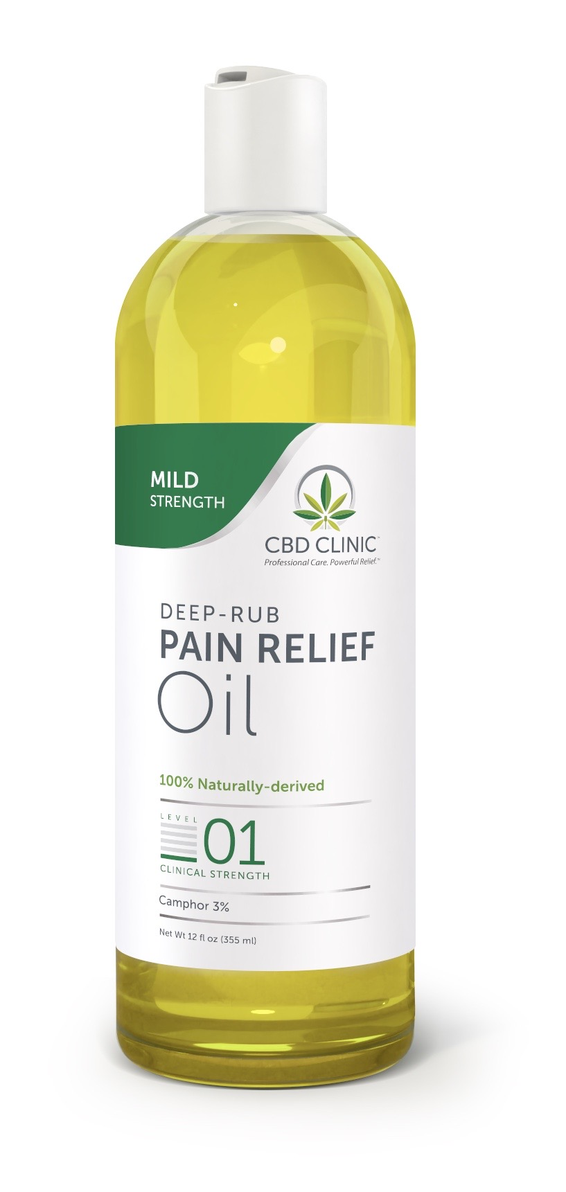 Clinical Strength Pain Relief Oil- Level 1