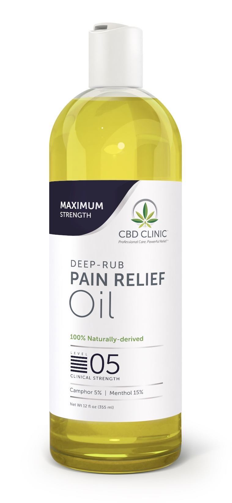 Clinical Strength Pain Relief Oil- Level 5
