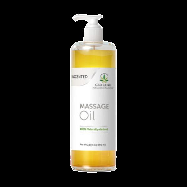 UNSCENTED: Massage Oil- 1 pack