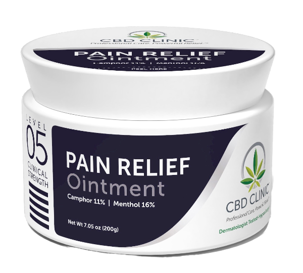 CBD Clinical Strength Pain Relief Ointment- Level 5